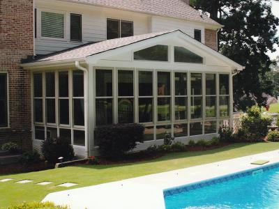 Georgia Sunroom Existing Porches Roofs And Breezeways